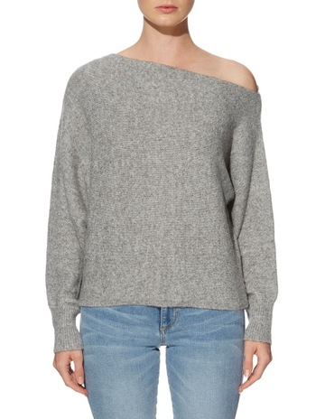 3cb2e112323f GuessLong Sleeve Catrina Off Shoulder Sweater. Guess Long Sleeve Catrina  Off Shoulder Sweater