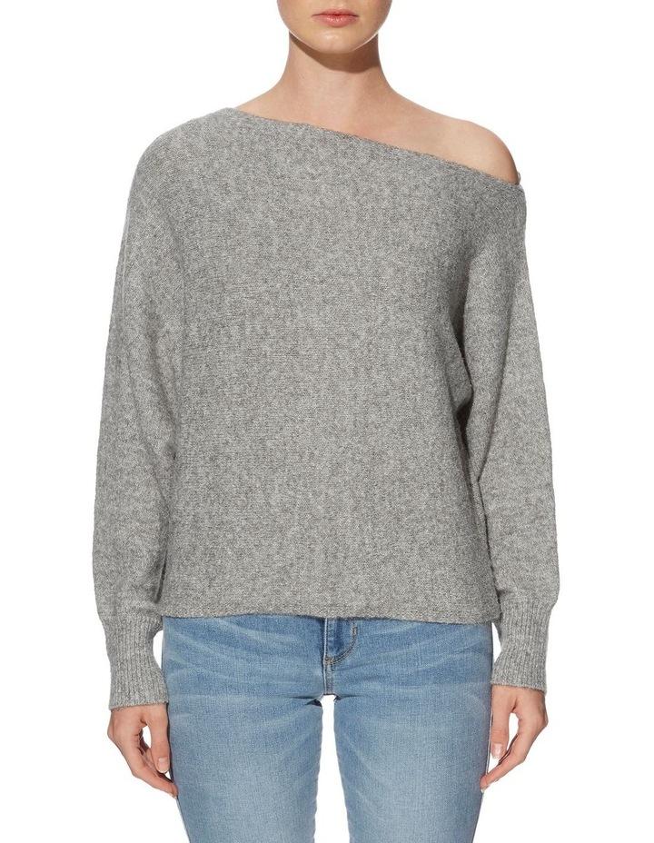 Long Sleeve Catrina Off Shoulder Sweater image 1