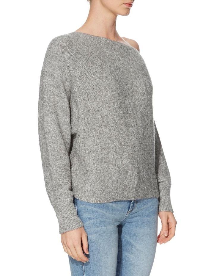 Long Sleeve Catrina Off Shoulder Sweater image 3