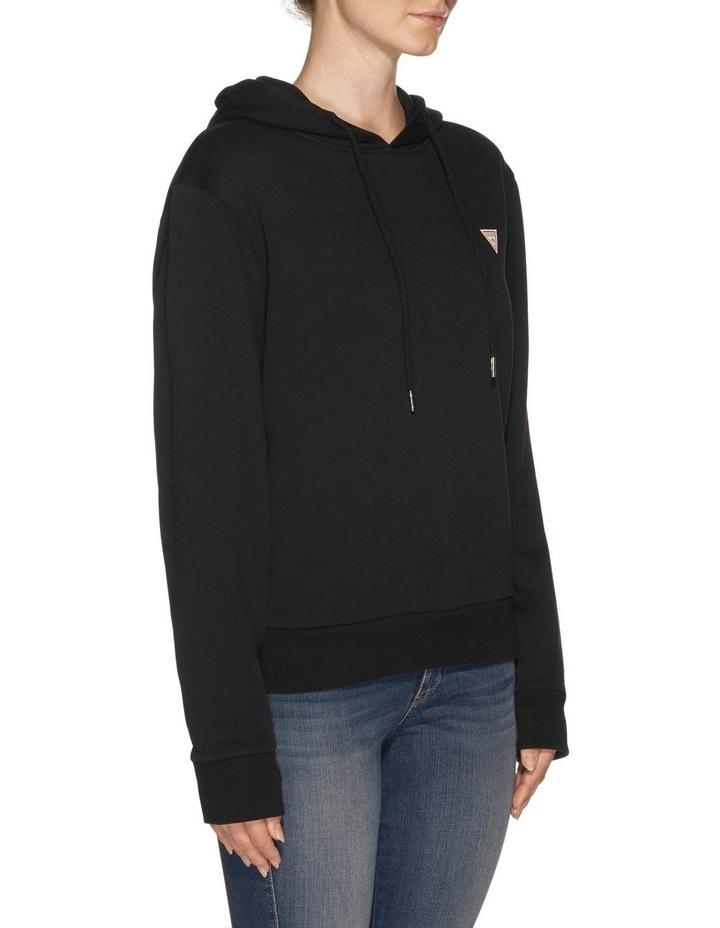 Long Sleeve Guess Logo Hoodie image 2