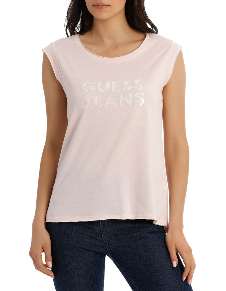 Short Sleeve Guess Jeans Easy Tee image 1