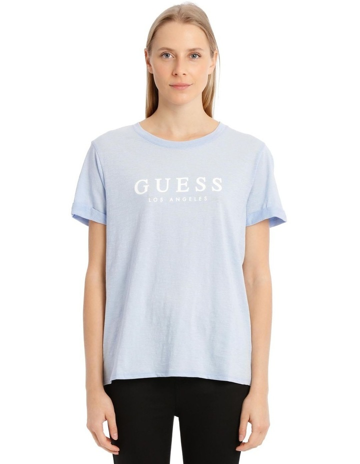 Eco Organic Cotton T-Shirt - Blue image 1