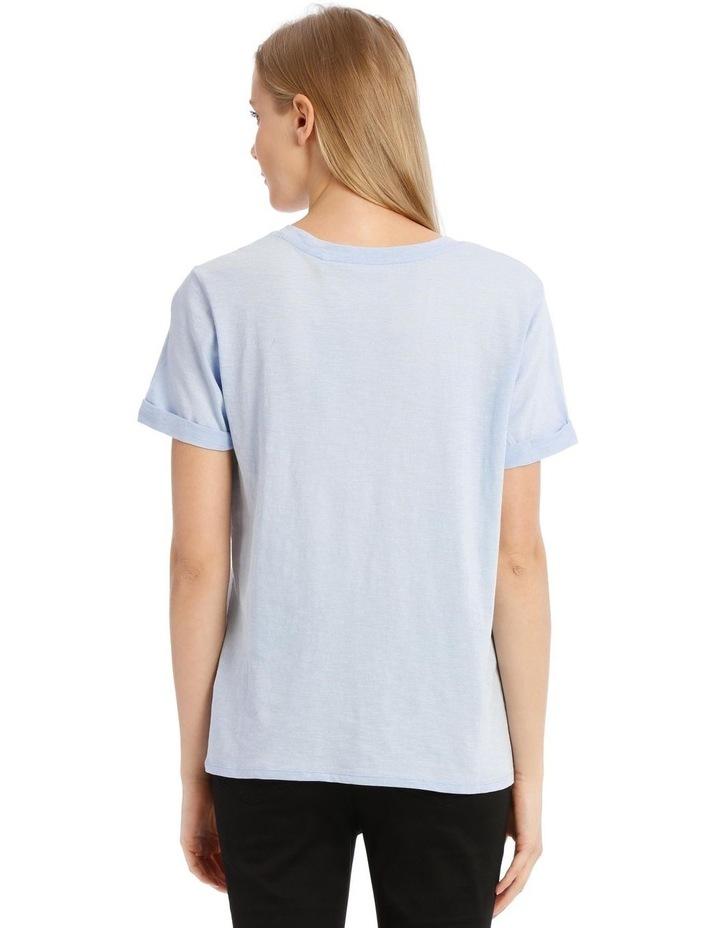 Eco Organic Cotton T-Shirt - Blue image 2