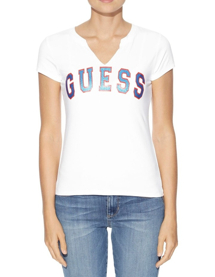 Short Sleeve Guess Athletic Tee image 1
