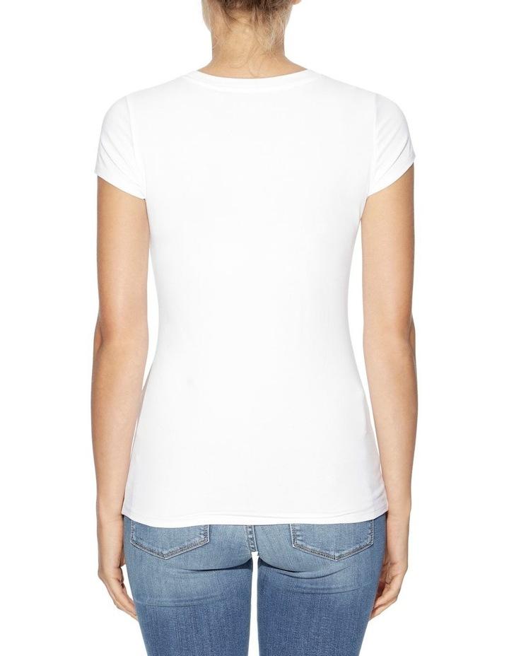 Short Sleeve Split Logo Tee image 2