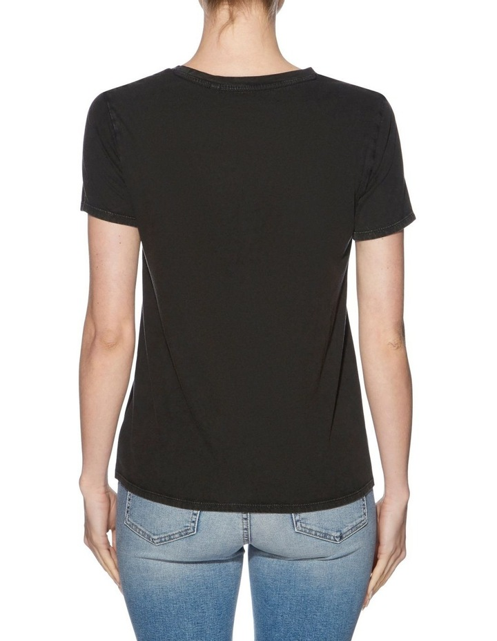 Short Sleeve Beaded Guess Logo Tee image 2