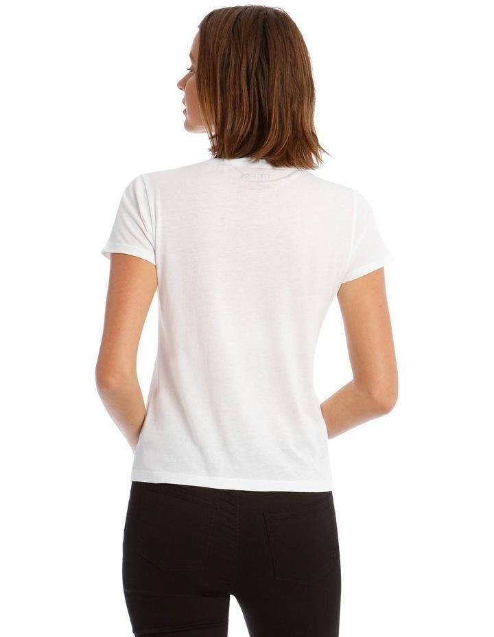 Short Sleeve Guess Logo Baby Tee image 3