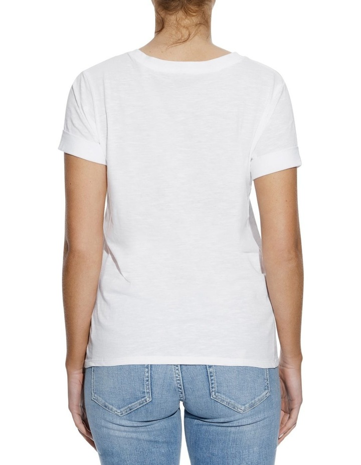 Short Sleeve Guess 1981 Rolled Cuff Tee image 2