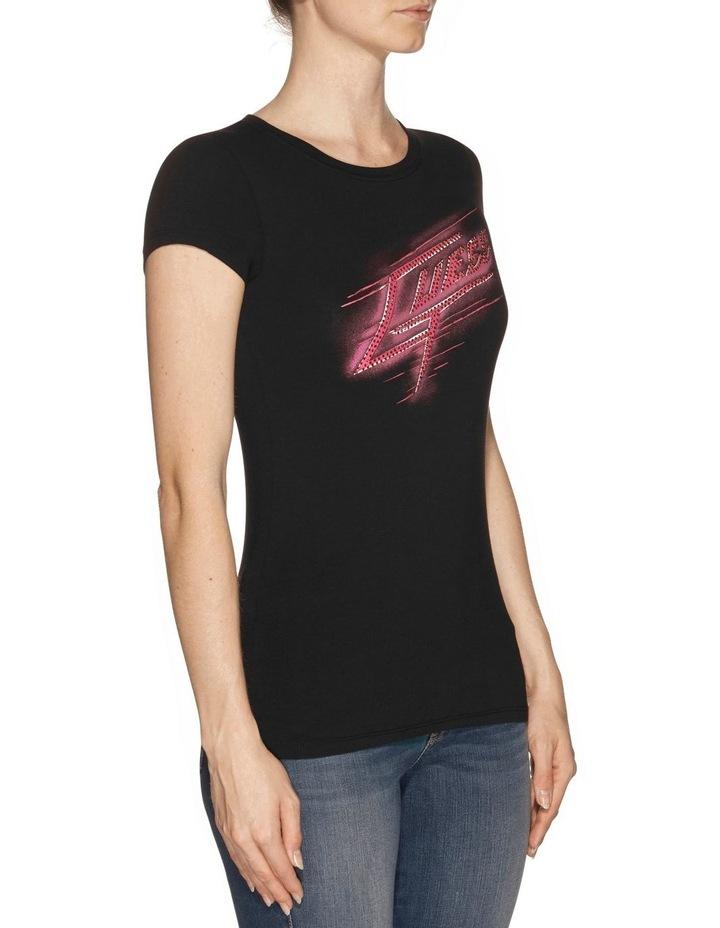 Short Sleeve Guess Shock R3 Logo Tee image 2
