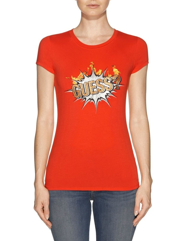 Short Sleeve Guess Boom Logo R3 Tee image 1