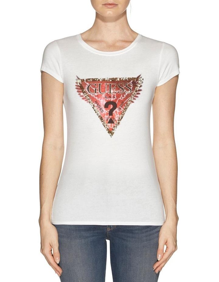 Short Sleeve Embellished Wings R3 Tee image 1