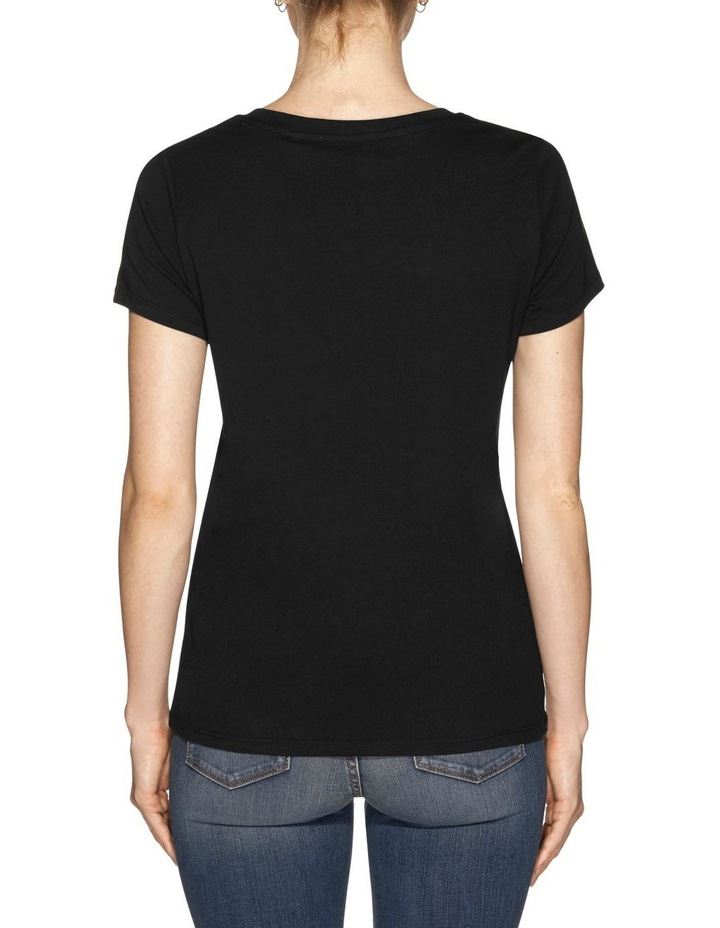 Short Sleeve Guess Planet Logo Easy Tee image 3