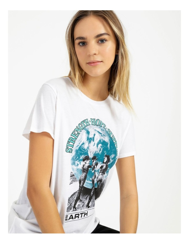 Short Sleeve Support The Earth Tee image 5