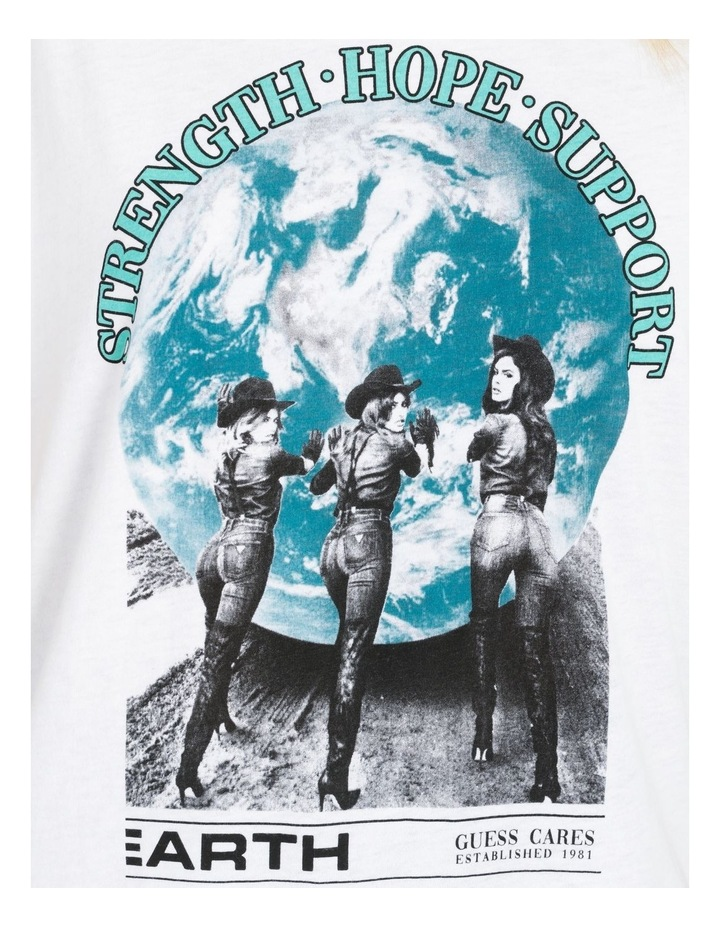 Short Sleeve Support The Earth Tee image 6