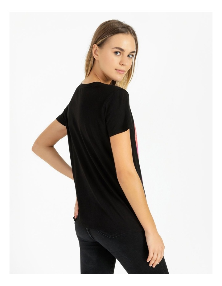 Short Sleeve Guess Cover Girl Tee image 3