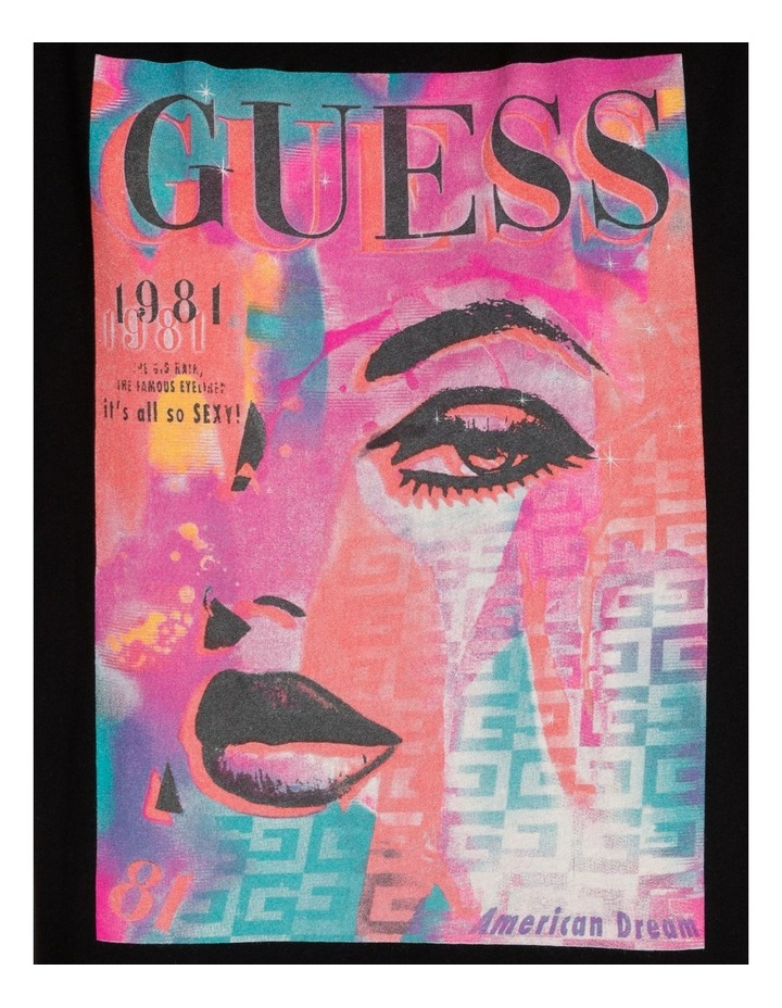 Short Sleeve Guess Cover Girl Tee image 6