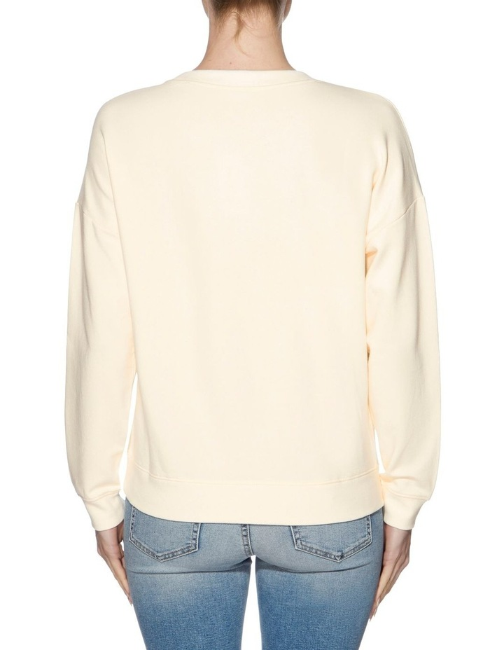 Long Sleeve Gold Embossed Sweatshirt image 3
