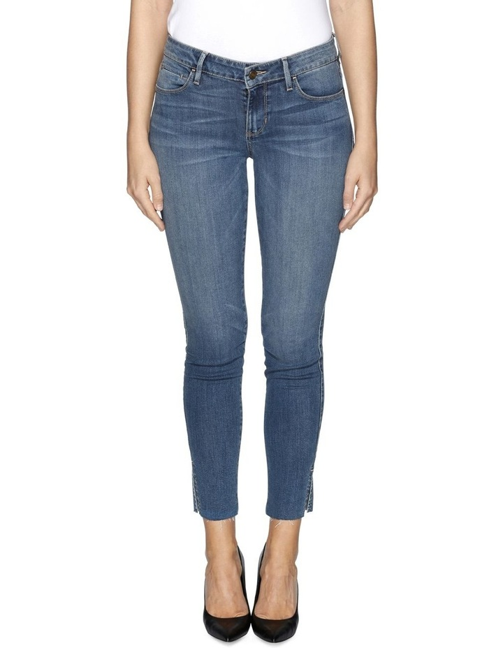 Sexy Curve Ankle Slit Martine Jeans image 1