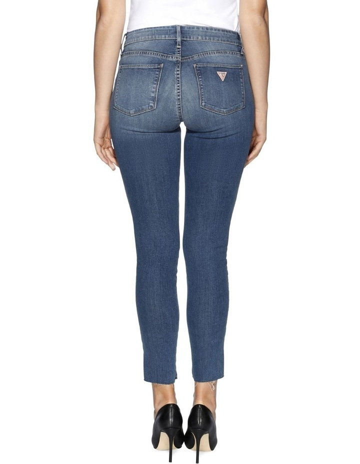 Sexy Curve Ankle Slit Martine Jeans image 3