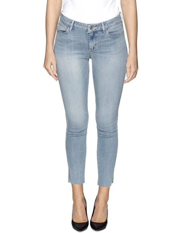 Sexy Curve Ankle Slit Breann Jeans image 1