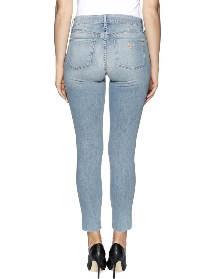 Sexy Curve Ankle Slit Breann Jeans image 3