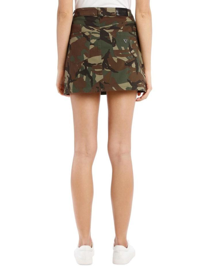 David Camouflage Mini Skirt image 3