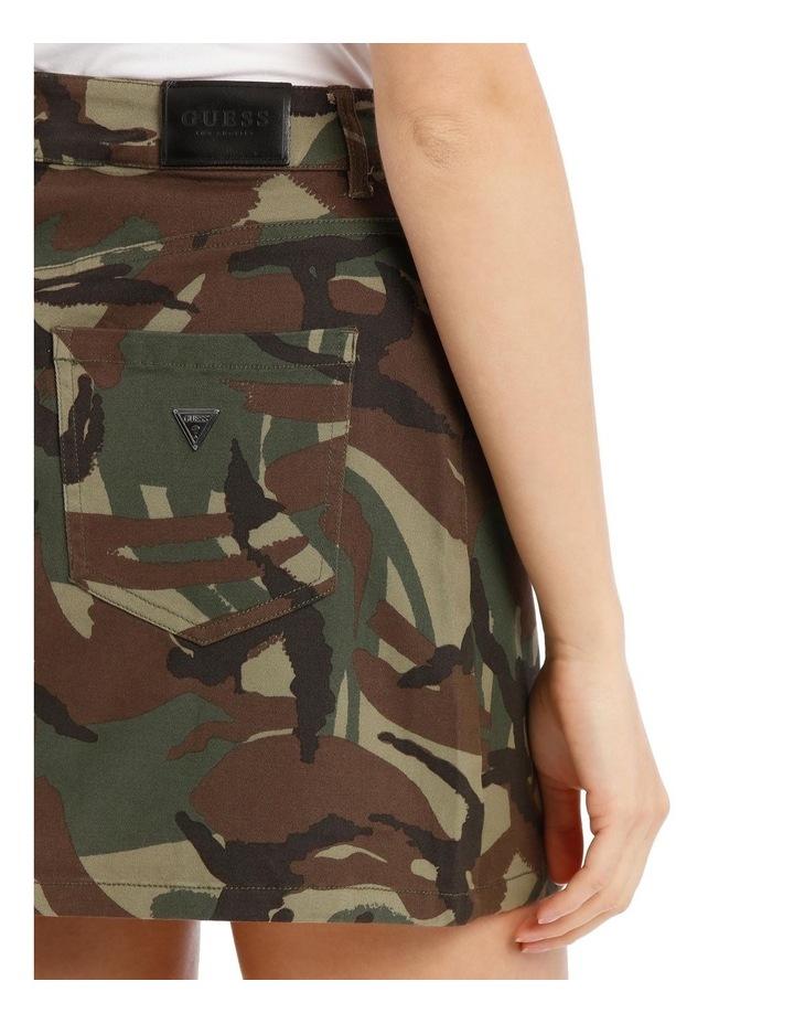 David Camouflage Mini Skirt image 4