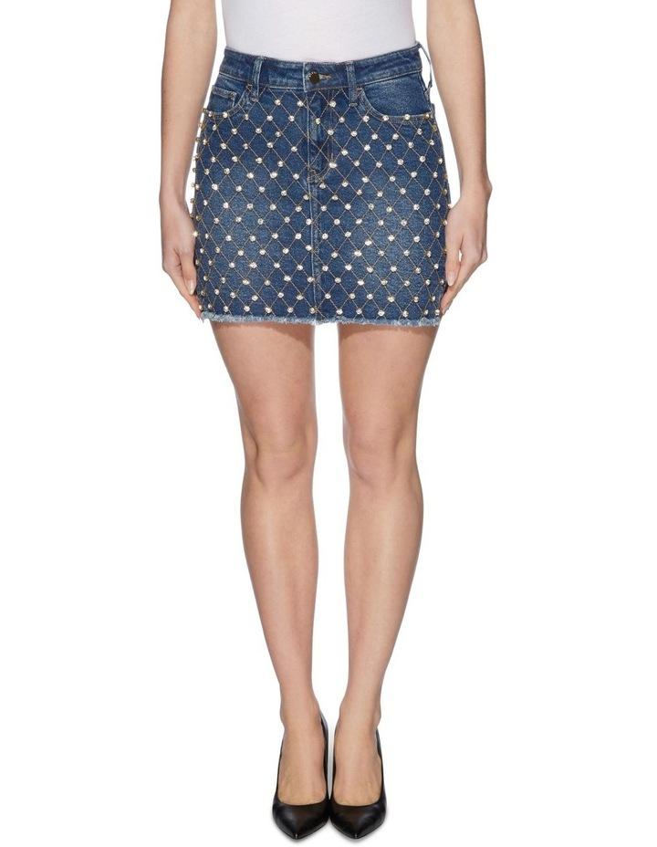 Diamante Bodycon Skirt image 1