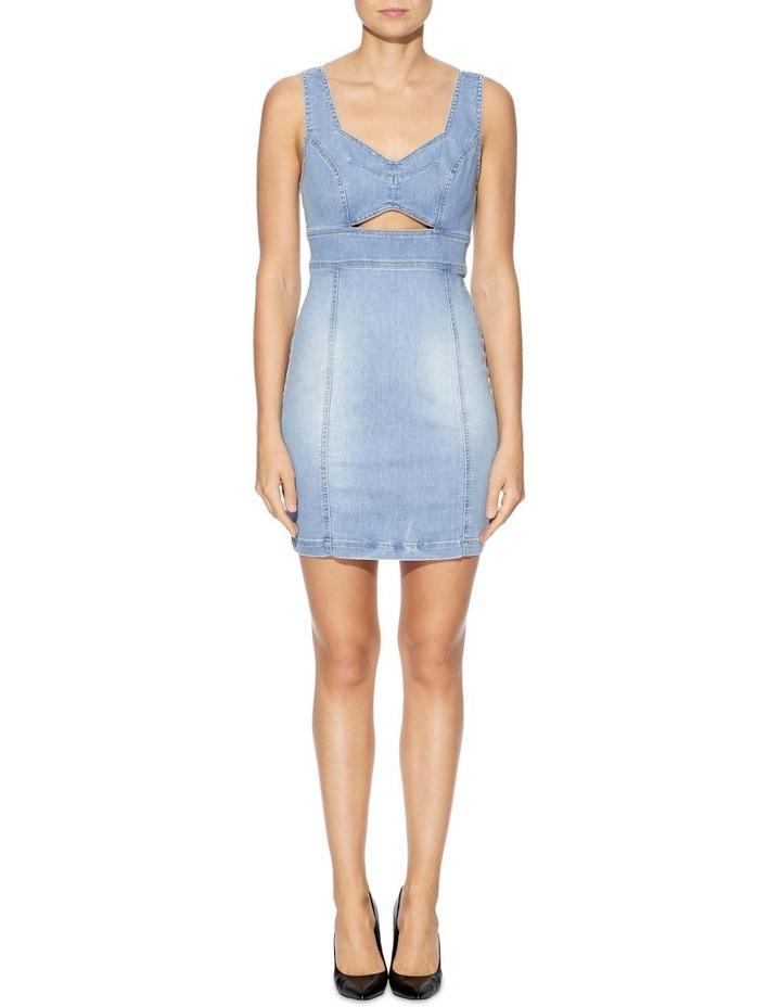 Sadie Denim Bodycon Dress image 1