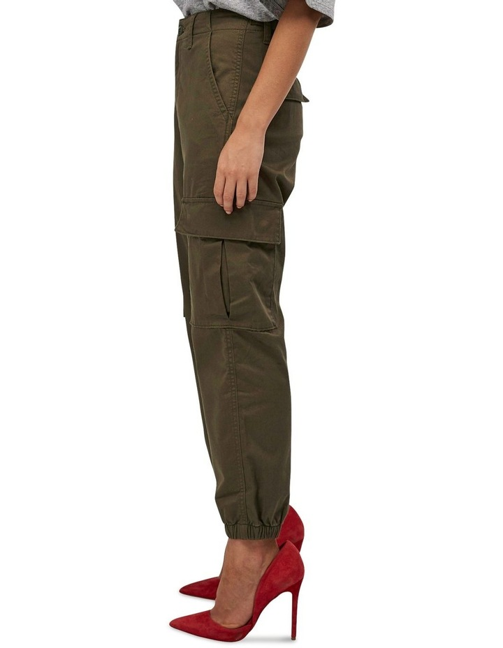 High Waisted Cargo Pants image 2