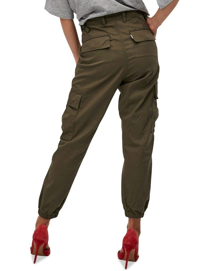 High Waisted Cargo Pants image 3