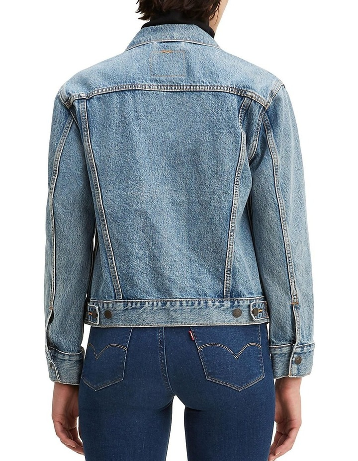 Jacquard Trucker Jacket With Jacquard By Google image 2