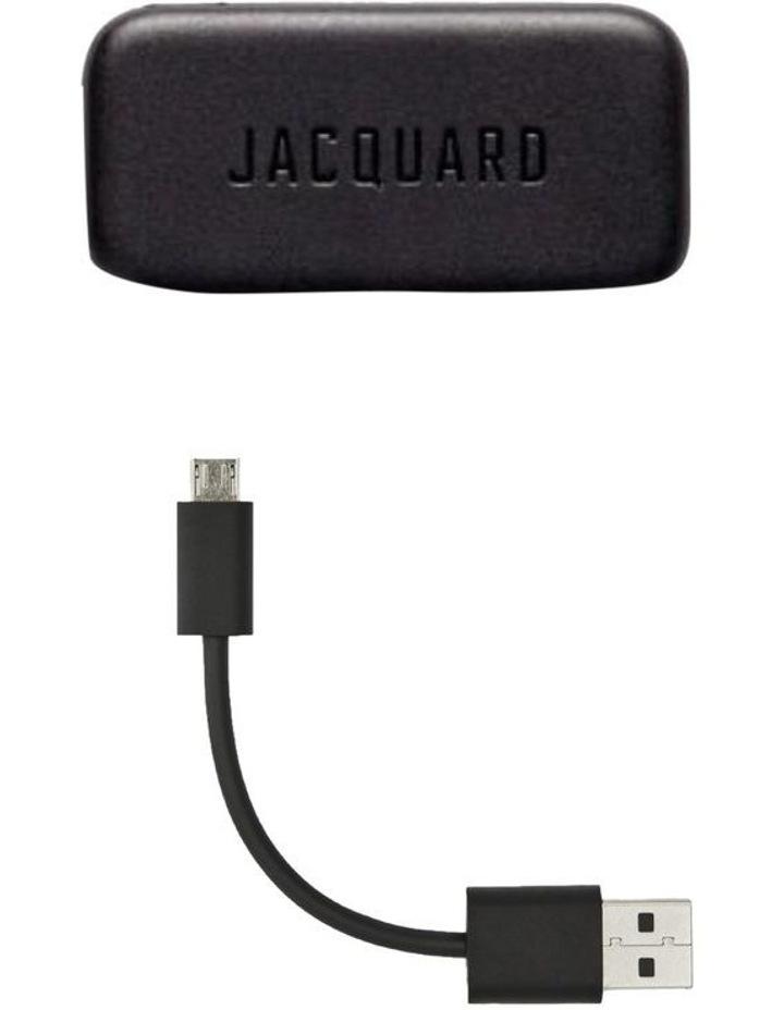 Jacquard Trucker Jacket With Jacquard By Google image 4