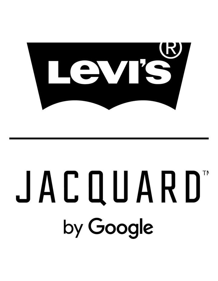 Jacquard Trucker Jacket With Jacquard By Google image 5