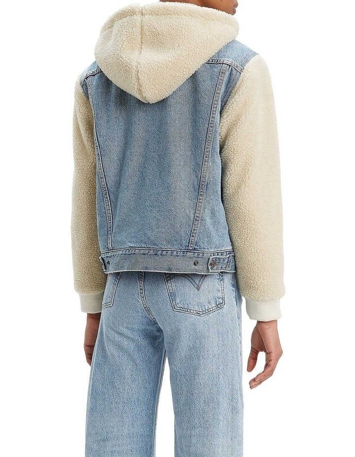 Ex-Boyfriend Sherpa Sleeve Trucker image 2