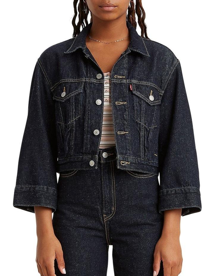Loose Sleeve Trucker Jacket image 1