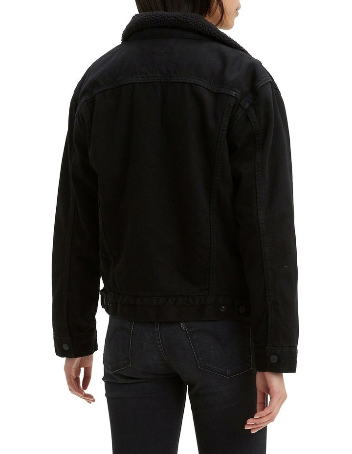 Ex-Boyfriend Sherpa Trucker Jacket image 2
