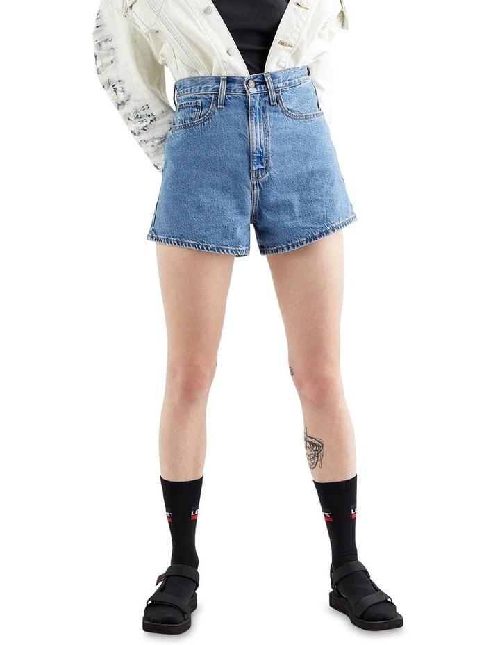 High Loose Jean Shorts image 1