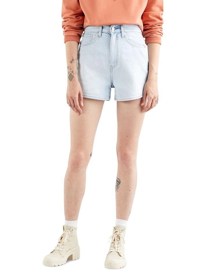 High Loose Jean Shorts image 2
