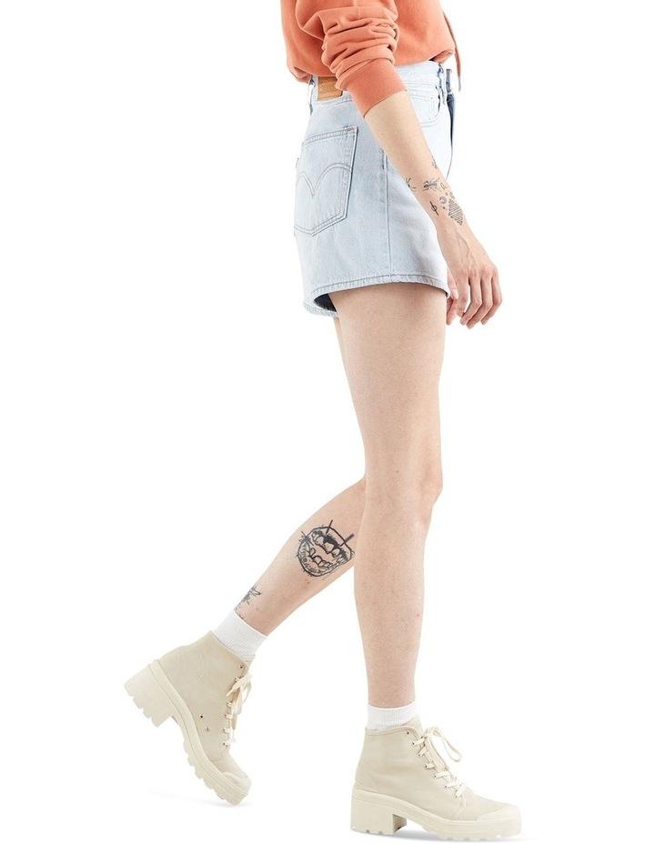 High Loose Jean Shorts image 3