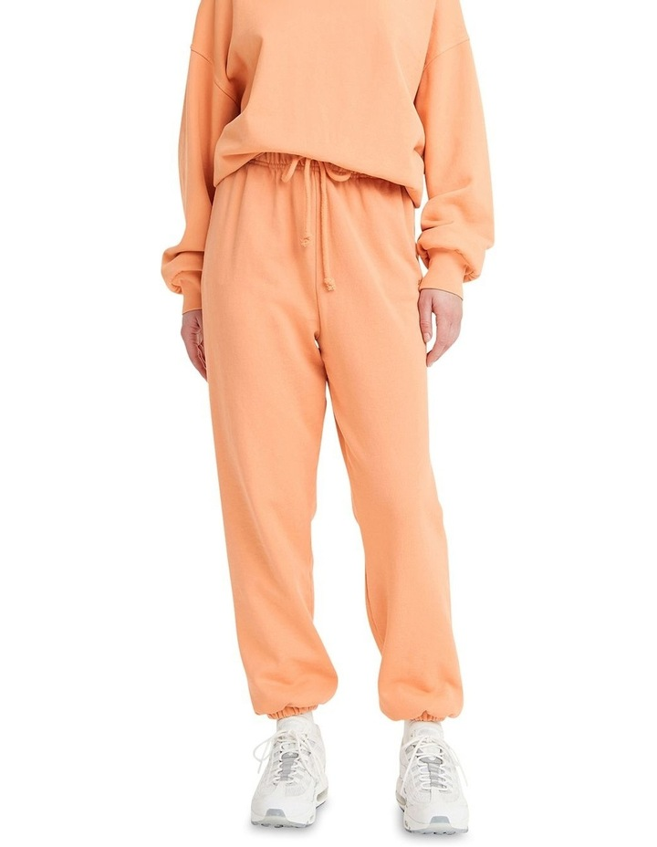 Work From Home Peach Sweatpants image 1