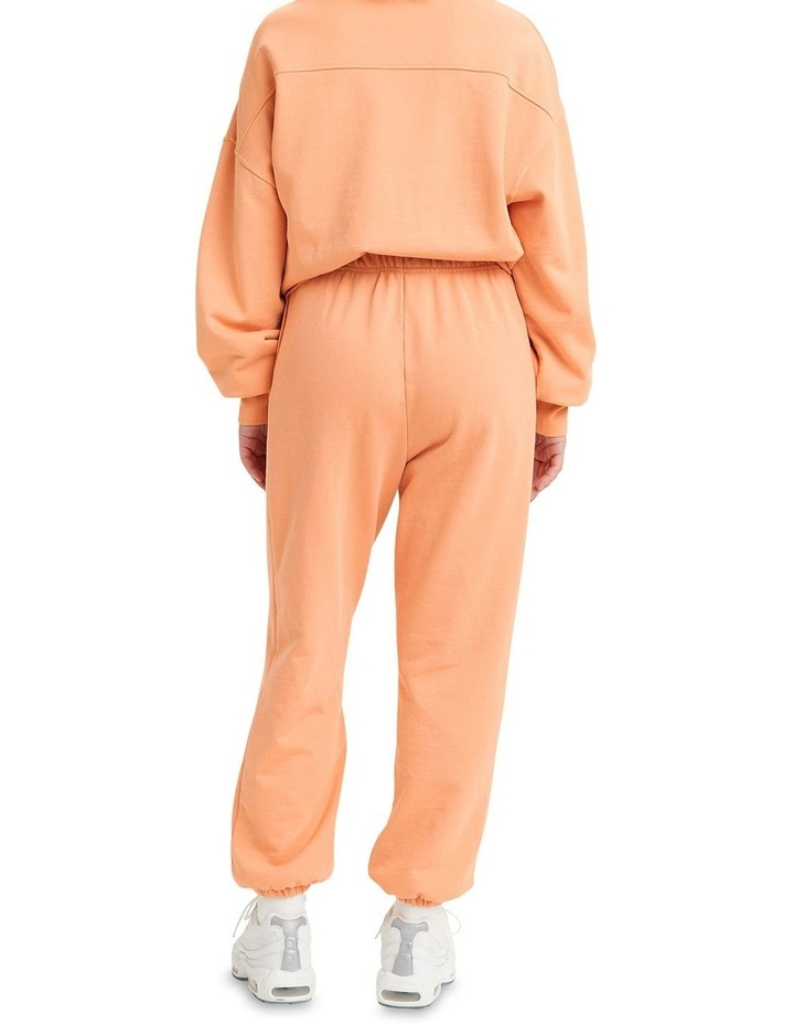 Work From Home Peach Sweatpants image 2