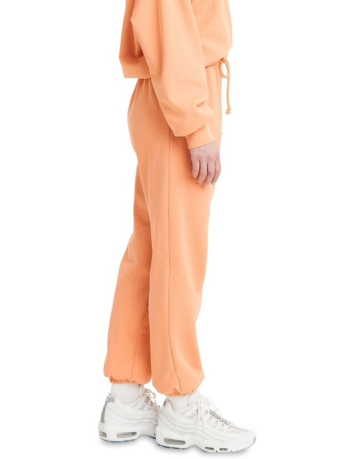 Work From Home Peach Sweatpants image 3