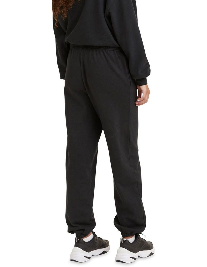 Work From Home Black Sweatpants image 2