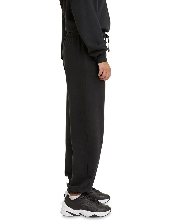 Work From Home Black Sweatpants image 3