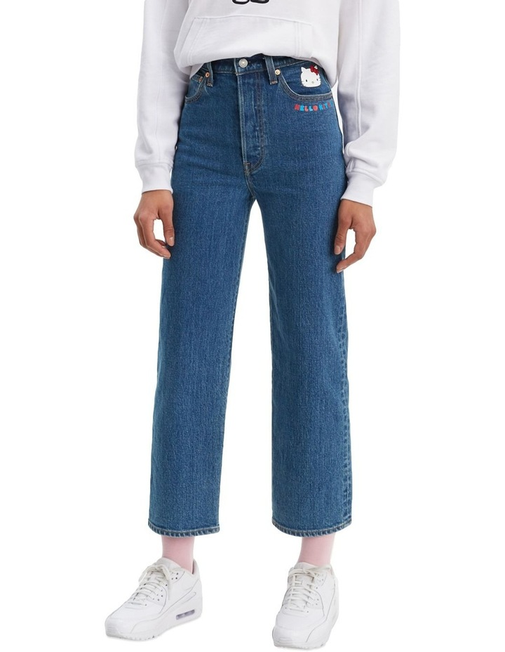 Levi'S® X Hello Kitty Ribcage Straight Jeans Ankle Jeans image 1