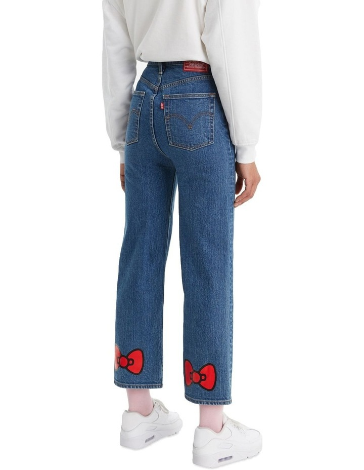 Levi'S® X Hello Kitty Ribcage Straight Jeans Ankle Jeans image 3