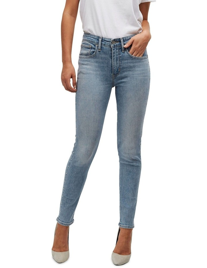 721 High Rise Skinny Ankle Jeans image 1