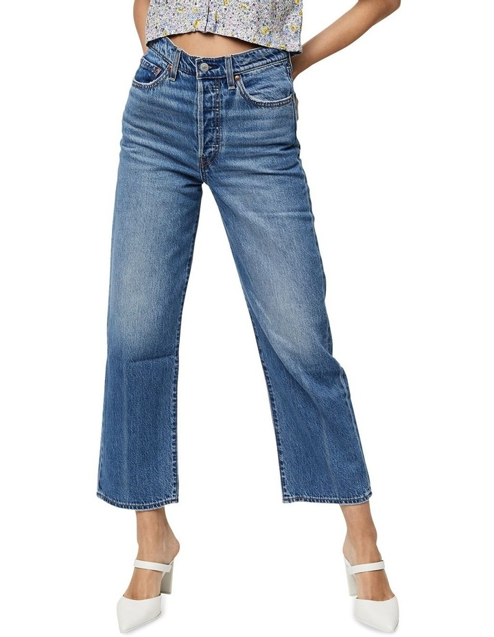 Ribcage Straight Ankle Jeans image 1