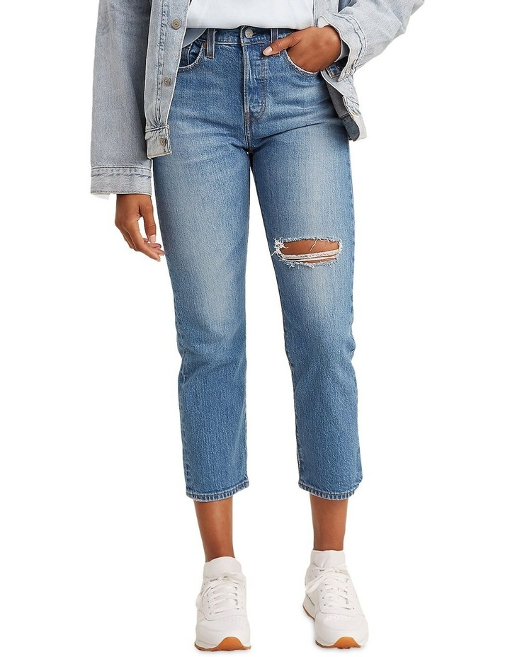 Wedgie Fit Straight Jeans image 1